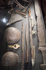 Viking spearheads (quinet) Tags: 2017 canada ontario rom royalontariomuseum toronto vikings 124