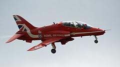 Red Arrow (NickWakeling) Tags: redarrows spixworth norfolk norwich norwichairport norwichinternationalairport sigma150600mmf563dgoshsmcontemporary canoneos7dmarkii