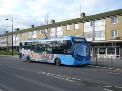 Metrobus No. 6111, registration No. SK66 HTJ. (johnzebedee) Tags: bus motorbus metrobus crawley sussex transport publictransport johnzebedee wrightbus wrightbusstreetlite