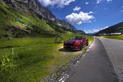 Photostop in Spiringen near Urnerboden - Uri - Switzerland (R.Smrekar-CH) Tags: landscape mountain mustang road 000100 d750 smrekar 2018 switzerland