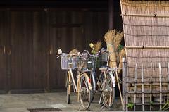 Choose you transportation mode (beeldmark) Tags: tokyo fiets japan latemiddag tokio 東京 taito jp bicycle broom 自転車 beeldmark 日本 pentax k5