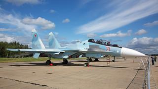 71-red, Sukhoi Su-30SM Russian Air Force @ Kubinka UUMB