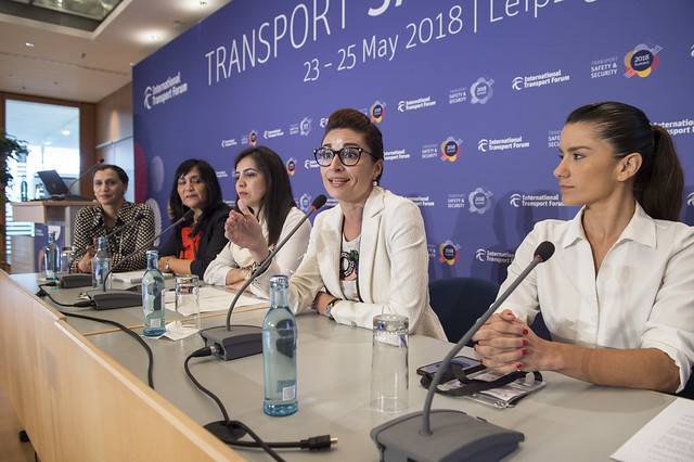 Laura Ballesteros discusses ways to empower women in transport