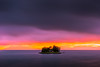sunset 6822 (junjiaoyama) Tags: japan sunset sky light cloud weather landscape purple orange pink contrast color bright lake island water nature spring
