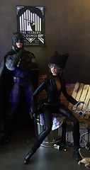 Uh Oh Busted (MaxxieJames) Tags: catwoman batman selina kyle bruce wayne dc dcu mattel barbie ken justice league doll dolls collector gotham