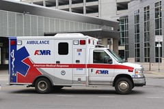 AMR (So Cal Metro) Tags: ambulance paramedic emt ems rescue ford econoline eseries amr americanmedicalresponse syracuse newyork upstate
