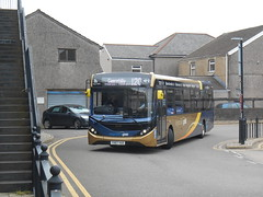 Stagecoach in South Wales 26189 (Welsh Bus 18) Tags: stagecoach southwales stagecoachgold dennis dart slf 5 eurovi 118m adl enviro200mmc 26189 yx67vad pontypridd