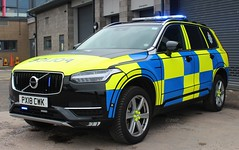 PX18 CWK (Ben - NorthEast Photographer) Tags: cumbria constabulary police volvo xc90 xc 90 t6 arv armed response vehicle 999 firerms traffic car roads unit rpu policing motort patrols offroad 4x4 north brand new first picture 2018 px18 cwk px18cwk