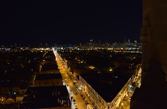View from Robey Hotel - Chicago (Dan M. Parker) Tags: wickerpark northwesttower northavenue night lights