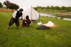 Closing cannon! (Pahz) Tags: cannon gsmbristol janesvillerenaissancefaire janesvillewi renfaire renaissancefaire renaissancefairephotographer pattysmithjrf jvl wisconsin