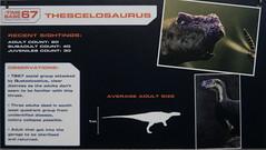 Dinosaurs in the Wild (theAdhocracyUK) Tags: britain dinosaur information london palaeoart poster thescelosaurus