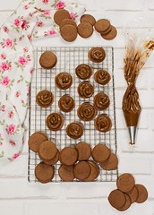 Alfajores de cacao (Frabisa) Tags: recetas cocinacasera cocinasaludable alfajores dulcedeleche cacao galletas recipes homemadecooking healthycuisine cocoa cookies