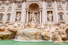 Trevi Fountain (Tony Shertila) Tags: colledellavalentina ita lazio pigna geo:lat=4190081372 geo:lon=1248349965 geotagged italy europe rome trevifountain structure fountain waterfeature statue baroque architecture art nicolasalvi palazzopoli