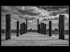 Gone Sailing (deltic22) Tags: skipoolcreek thornton clevelys blackpoolfylde jetty pier wood riverwyre water sand fylde
