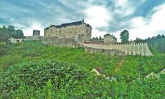 Český Šternberk castle (t.horak) Tags: fortress walls green woods landscape czech castle medieval history palace