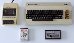 1/6 Retr0bright - before - Commodore datasette (dloc567) Tags: retr0bright retrobright vintage computers commodore datasette vic20 vc20