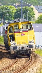Y9097 + Y9094 - Train 812478 Quimper>Lorient (Alan Jfr) Tags: y9097 y9094 train 812478 quimper lorient infra sncf désherbeur tdh y9000