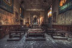 Cult (JOP-76) Tags: kirche verlassen kaputt kult abandoned exploration entdecken lost