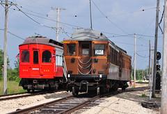 Illinois Ry Museum #1268 & 319 (Jim Strain) Tags: jmstrain irm union illinois railway museum cta transit csl crt chicago