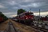 "77 009 with passenger train 16106 ""Rodopi"" Dobrinishe - Septemvri ar station Septemvri - 06.05.2018 г. (DMKarev) Tags: bdz 77009 septemvri dobrinishe"