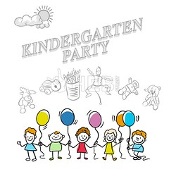 Kindergarten party marketing cover (Hebstreits) Tags: adorable animal baby birthday cartoon character children comic cover cruise cute design drawing element elements happy headline icon illustration island kid kids kindergarten life map marketing nautical objects octopus painting party pirate preschool school sea set ship smile summer sun travel treasure tree typo vector whale