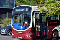 145 (Callum's Buses and Stuff) Tags: madderandwhite madderwhite madder edinburgh bonnyrigg volvo edinburghbus bus buses lothianbuses lothian eclips eclipse sn57dcz