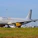 Vueling Airlines EC-MJC Airbus A320-232 Sharklets cn/6841 @ Taxiway Q EHAM / AMS 06-06-2016
