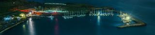 horseshoe marina panorama