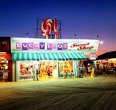 Lucky Leo's Sweet Shop (SurFeRGiRL30) Tags: luckyleossweetshop luckyleos seasideheightsnj boardwalk candy saltwatertaffy yummy fudge cbdchocolate cbdcandy colorful