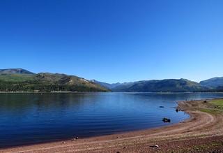 Morning Blues at Vallecito Lake