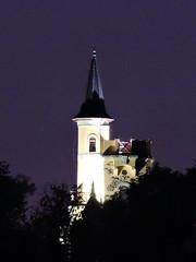 2018-05-26 Night in Teplice (beranekp) Tags: czech teplice teplitz letná hrádek night nacht tower turm