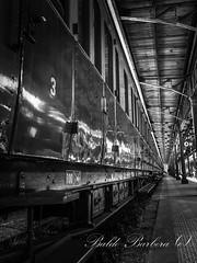 Centoporte in B\N (BaldoBi95) Tags: agrigento aln668 ale501 bahn railspotter railfanning rail railfan railway stazione italy stato italia trenitalia sicilia ferrovia ferrovie fs zug zuge
