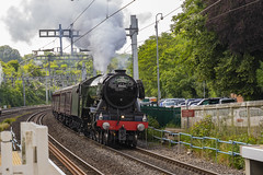 Flying Scotsman 60103 (byngphoto) Tags: berkshire steam train loco locomotive br60103 canon 7d sigma cathedrals express hills tour green world famous pangbourne