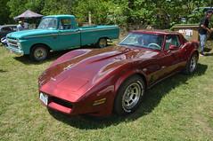 Chevrolet Corvette C3 (jfhweb) Tags: jeffweb voitureamericaine voitureus americancar sportcar voituredesport voituredecollection musclecar oldschoolday oldschoolday9 chateauneuflerouge chevy chevrolet corvette corvettec3