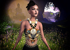 LuceMia - .Or. (2018 SAFAS AWARD WINNER - Favorite Blogger - MISS ) Tags: or sl secondlife mesh fashion creations blog beauty hud colors models lucemia jewelry nacklace gold silver tiger xocas