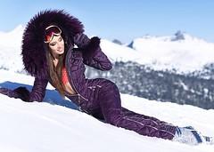 naumi purple (skisuitguy) Tags: skisuit snowsuit ski snow suit skiing skifashion skiwear skioutfit skibunny snowbunny onepieceskisuit onepiecesuit onesie onepiece skianzug skidress allinone