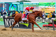 JUSTIFY (SouthpawCaptures) Tags: justify belmont stakes triple crown park winner mike smith