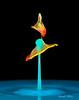 _D187789-Double-hat-barely-attached (Carol Cohn) Tags: water waterdrops waterart splash splashart drops droplets liquids liquidart liquidsculpture colorful highspeedphotography macro tropfen gotas