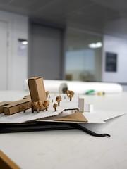 """Inspired"" Family Day 2018 - 1 (the justified sinner) Tags: architecture model paper waste panasonic 17 20mm gx7 justifiedsinner birmingham cityuniversity bcu arts adm inspiredfestival"