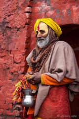 Colourful Sadhu 3012 (Ursula in Aus - Travelling) Tags: asia kathmandu nepal pashupatinath ggphotoworkshop
