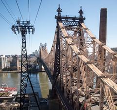 Queensboro bridge (grapfapan) Tags: tramway rooseveltisland queensborobridge manhattan newyorkcity usa travel