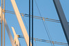 BC Place 1 (josullivan.59) Tags: 2018 artistic bc britishcolumbia canada canon6d may tamron150600 vancouver abstract architecture blue detail downtown evening geometric goldenhour light lightanddark minimalism nicelight outdoor outside sunsetlight telephoto wallpaper white urban day clear