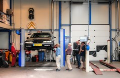 Citroën XM 2.0i VSX Turbo C.T. (Skylark92) Tags: nederland netherlands holland flevoland almere xenonstraat do citroen specialist service garage bxclub bollen bbq meeting car road wheel 158 nznh40 1996 citroën xm 20i vsx turbo ct