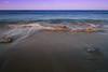 High Tide (ian_underthesea) Tags: beach sand rocks waves ocean sea blur motion australia