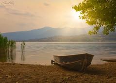 Lago di Pusiano (Christian Papagni | Photography) Tags: bosisioparini lombardia italia it canon eos 5d mark iv ef24105mm f4l is ii usm lago di pusiano sunset tramonto