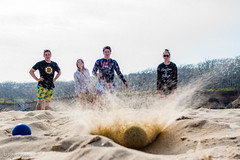 South Beach Bocce (John Piekos) Tags: ocean fun sand marthasvineyard wasque chappaquiddick bocce family cacace edgartown sony vacation game rx100 beach