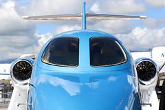 N420EX - Honda HA-420 HondaJet (Aviation and more) Tags: n420ex honda ha420 hondajet bizzer bizjet private ebace trading selling palexpo geneva genève genevaairport cointrin prototype testbed testpilot airplane aircraft blue bluesky static staticdisplay airshow event salon