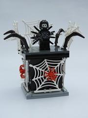 Spider Suit Boy - Series 18 Vignette (justin_m_winn) Tags: lego minifigure series 18 vignette spider suit boy moc