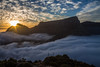 Sea of clouds (Ederson Ladeira) Tags: cloud mountain sunset sunrise sun canon trip expedition