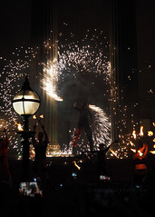 Bring the Fire Project (.annajane) Tags: fire lightnight bringthefireproject bringthefire sparkler firework stgeorgeshall liverpool liverpoollightnight uk england merseyside